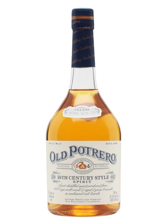 Old Potrero 18th Century Style Rye Spirit