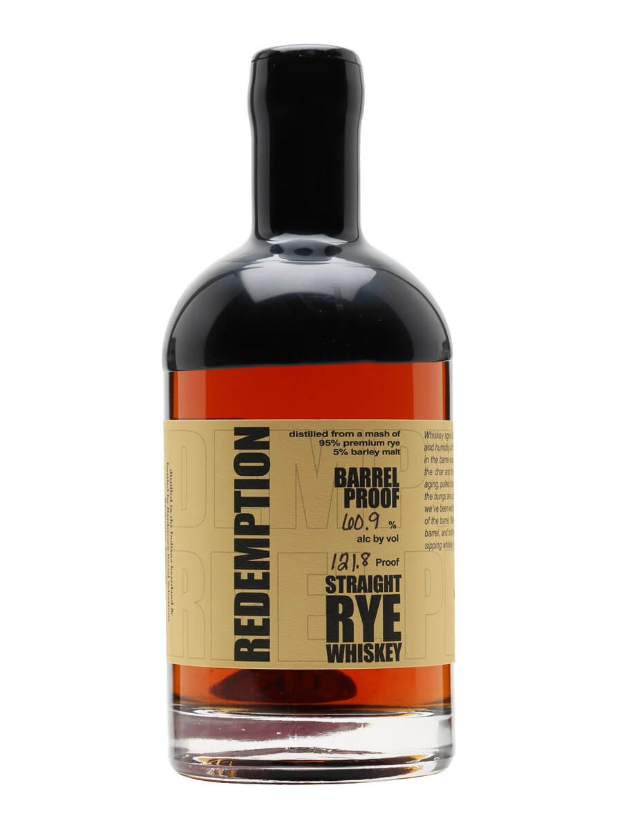 Redemption Rye Barrel Proof Whiskey The Whisky Exchange