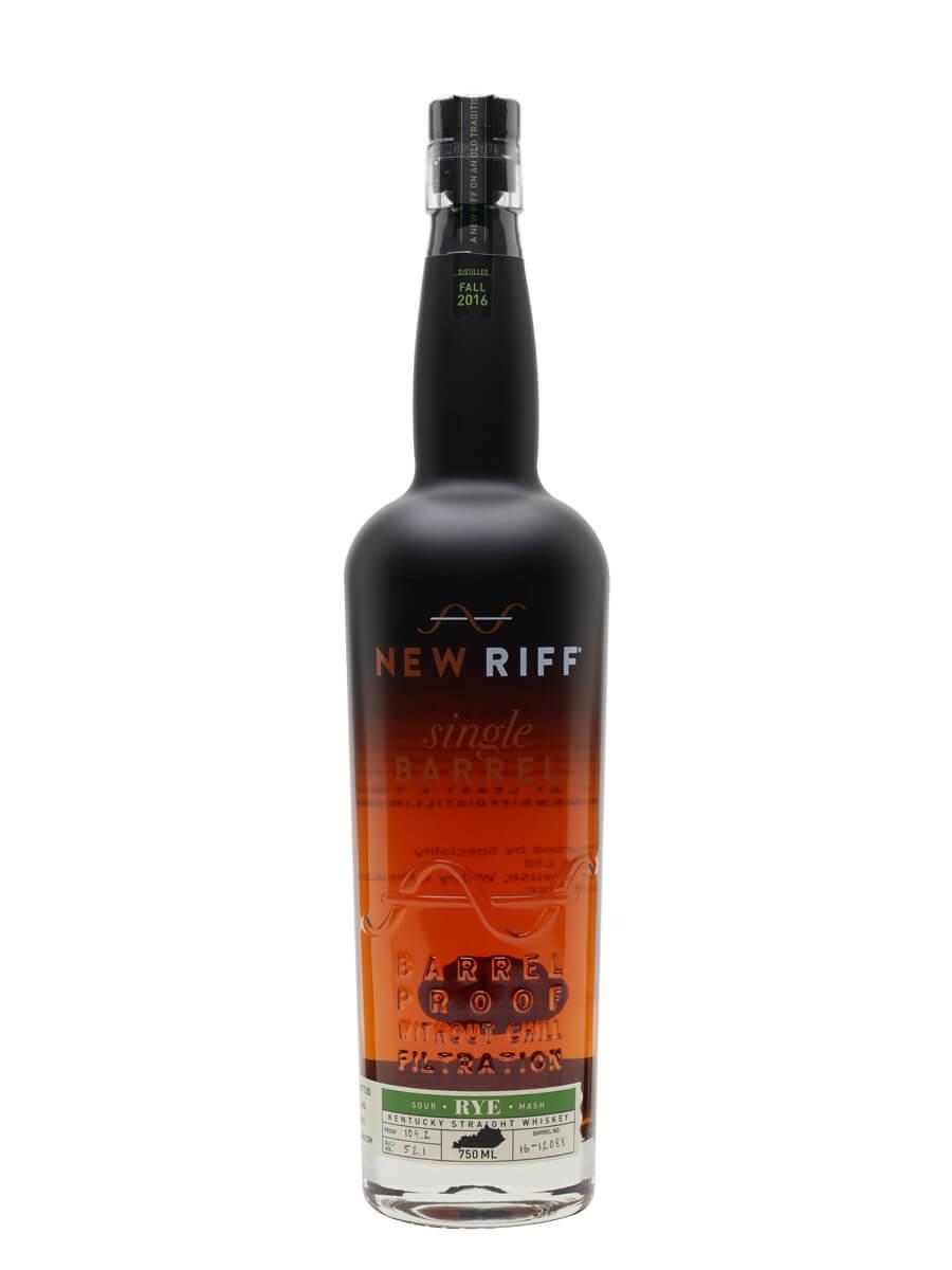 New Riff Single Barrel Proof Rye (52.1%)