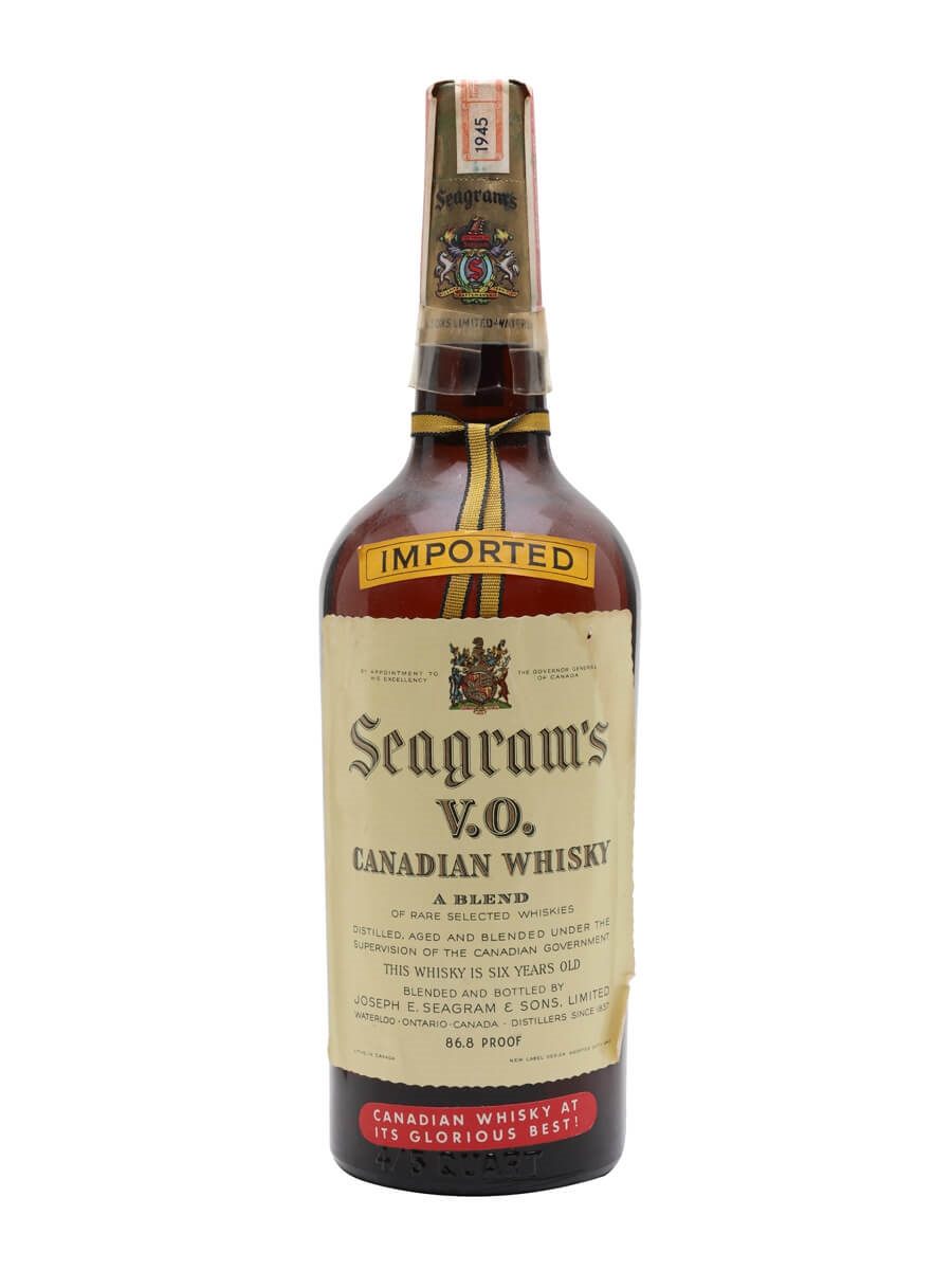 Seagram's VO / 6 Year Old / Bot.1940s