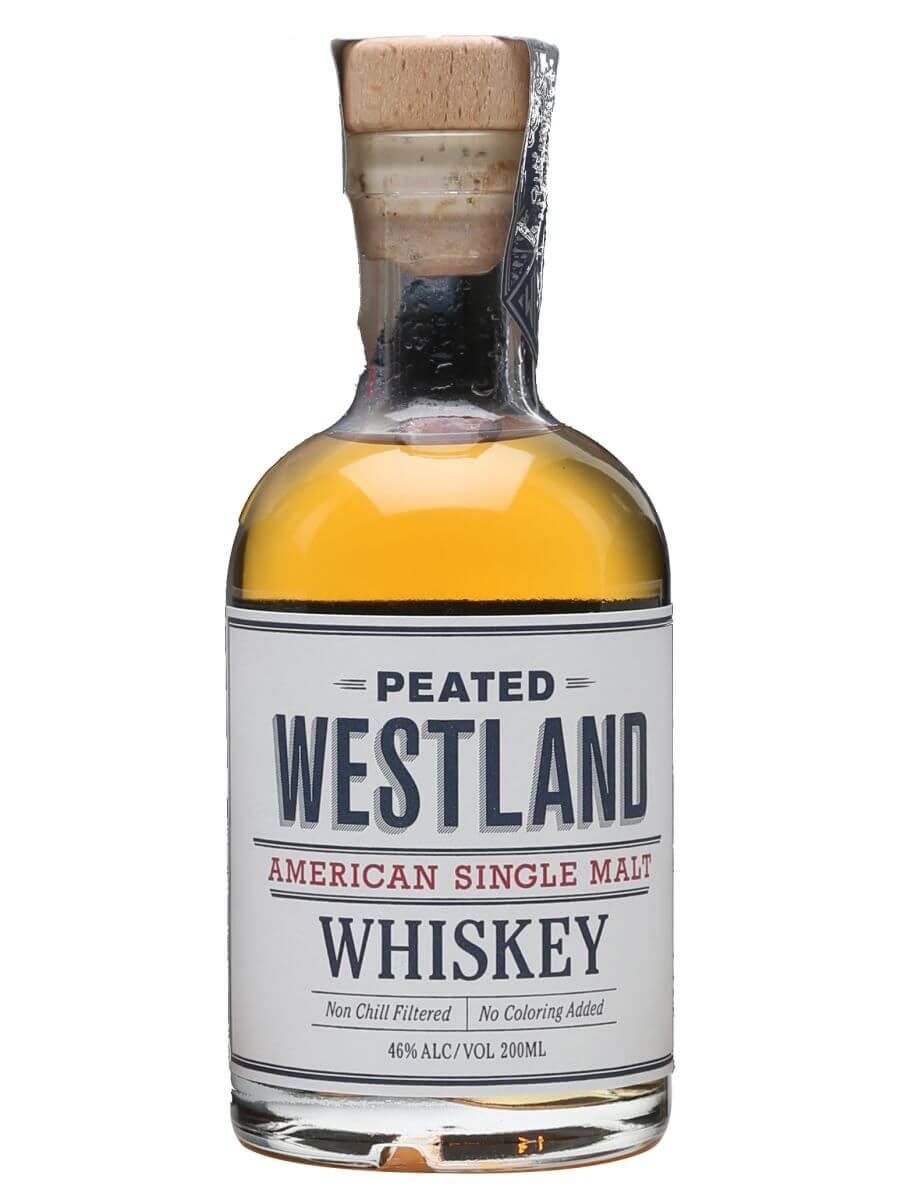 Westland Peated Single Malt  / Small Bottle