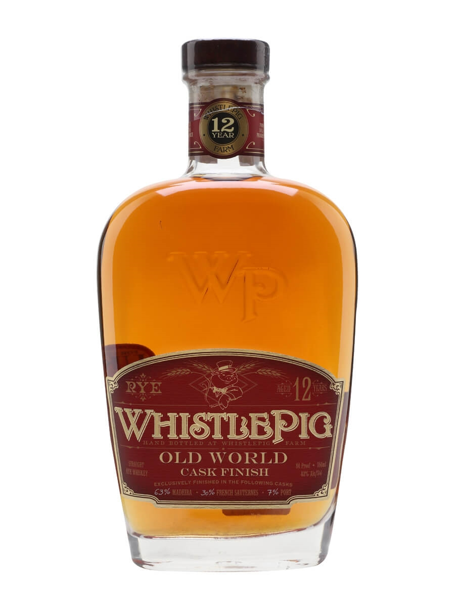 WhistlePig 12 Year Old Marriage / Old World Cask Finish