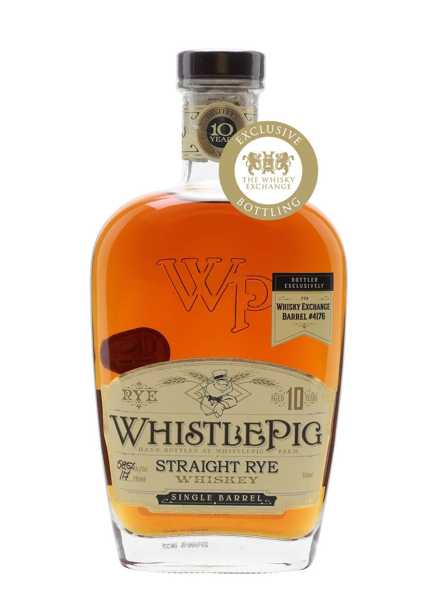 Whistlepig 10 Year Old / Cask #4176 / TWE Exclusive