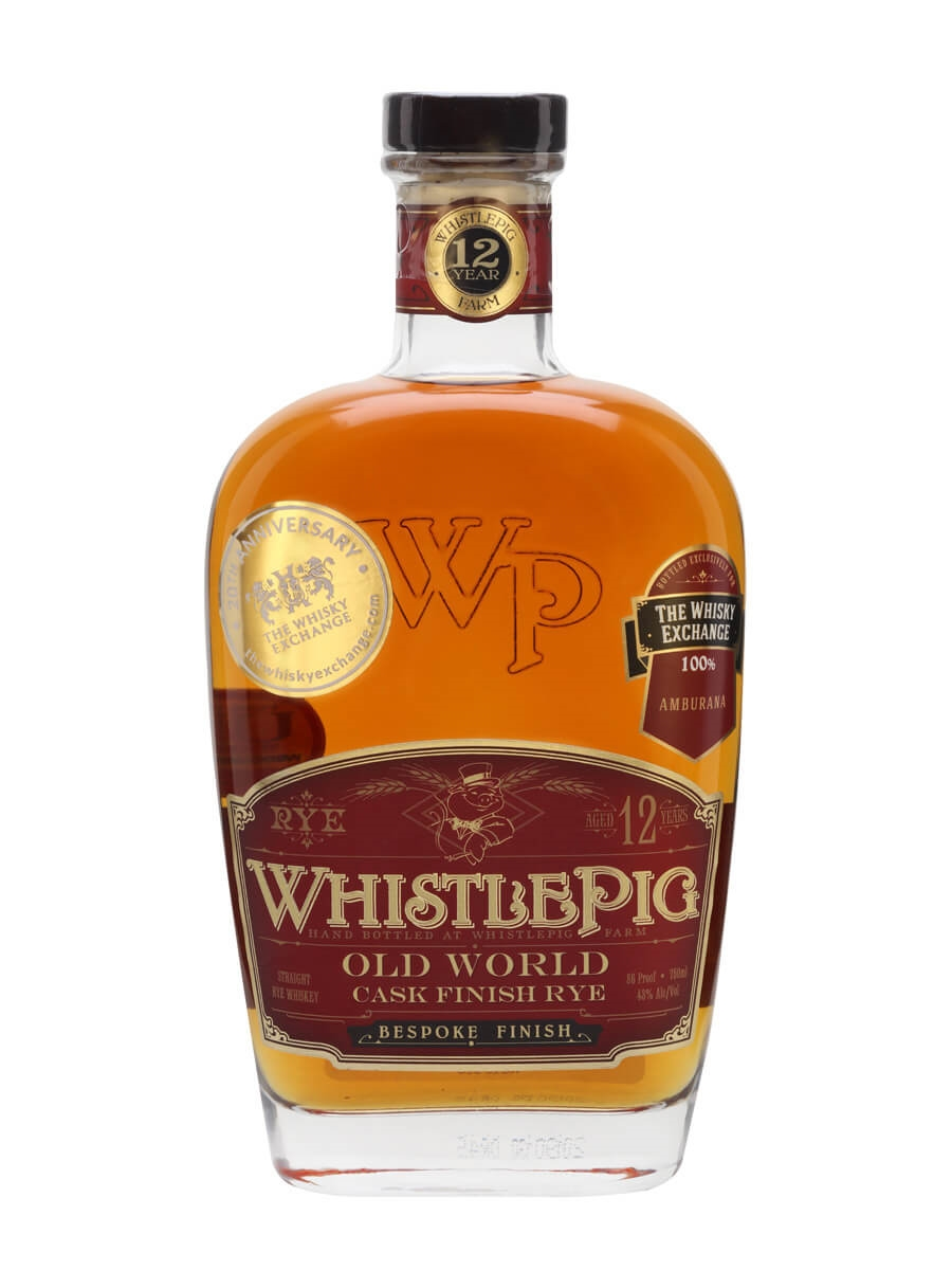 WhistlePig Amburana Rye / 12 Year Old / TWE Exclusive