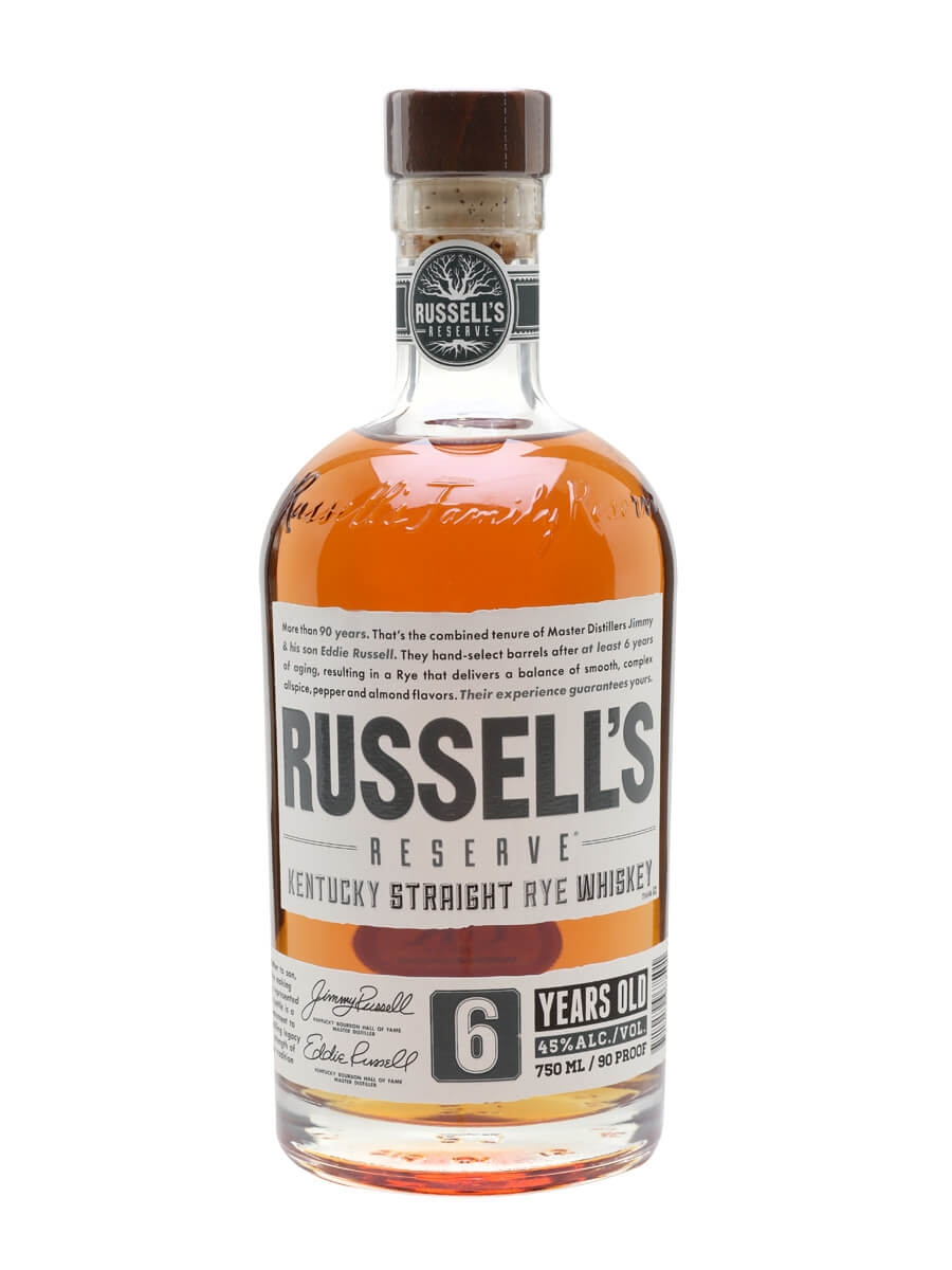 Wild Turkey Russell's Reserve Rye 6 Year Old