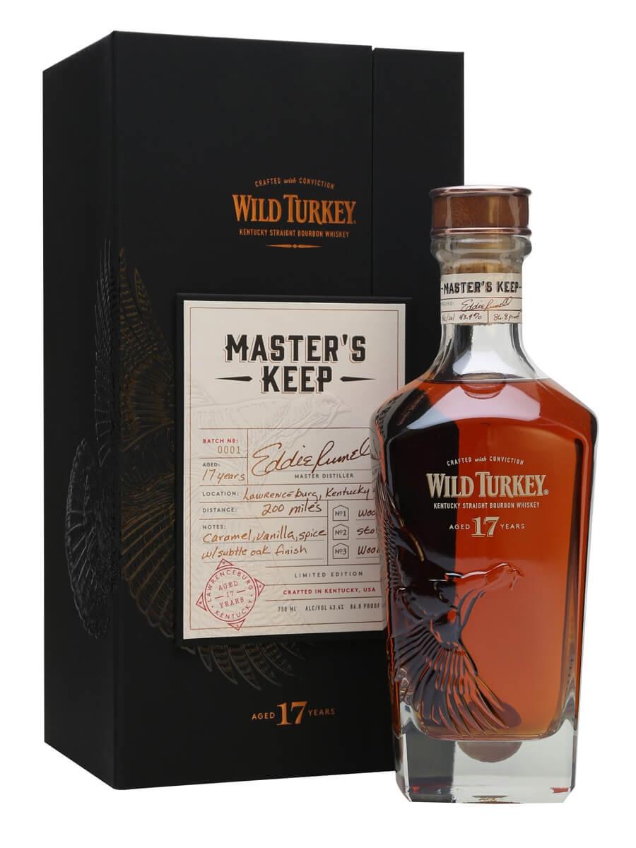 Wild Turkey Master's Keep 17 Year Old / 1st Release