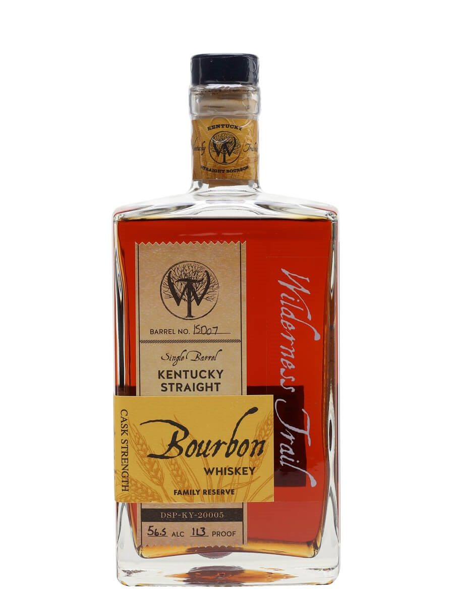 Wilderness Trail Family Reserve Cask Strength Bourbon / 4 Year Old