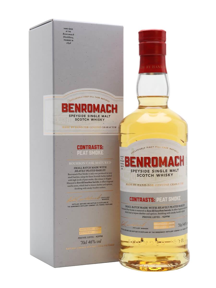 Benromach Contrasts: Peat Smoke 2009 / Bot. 2020