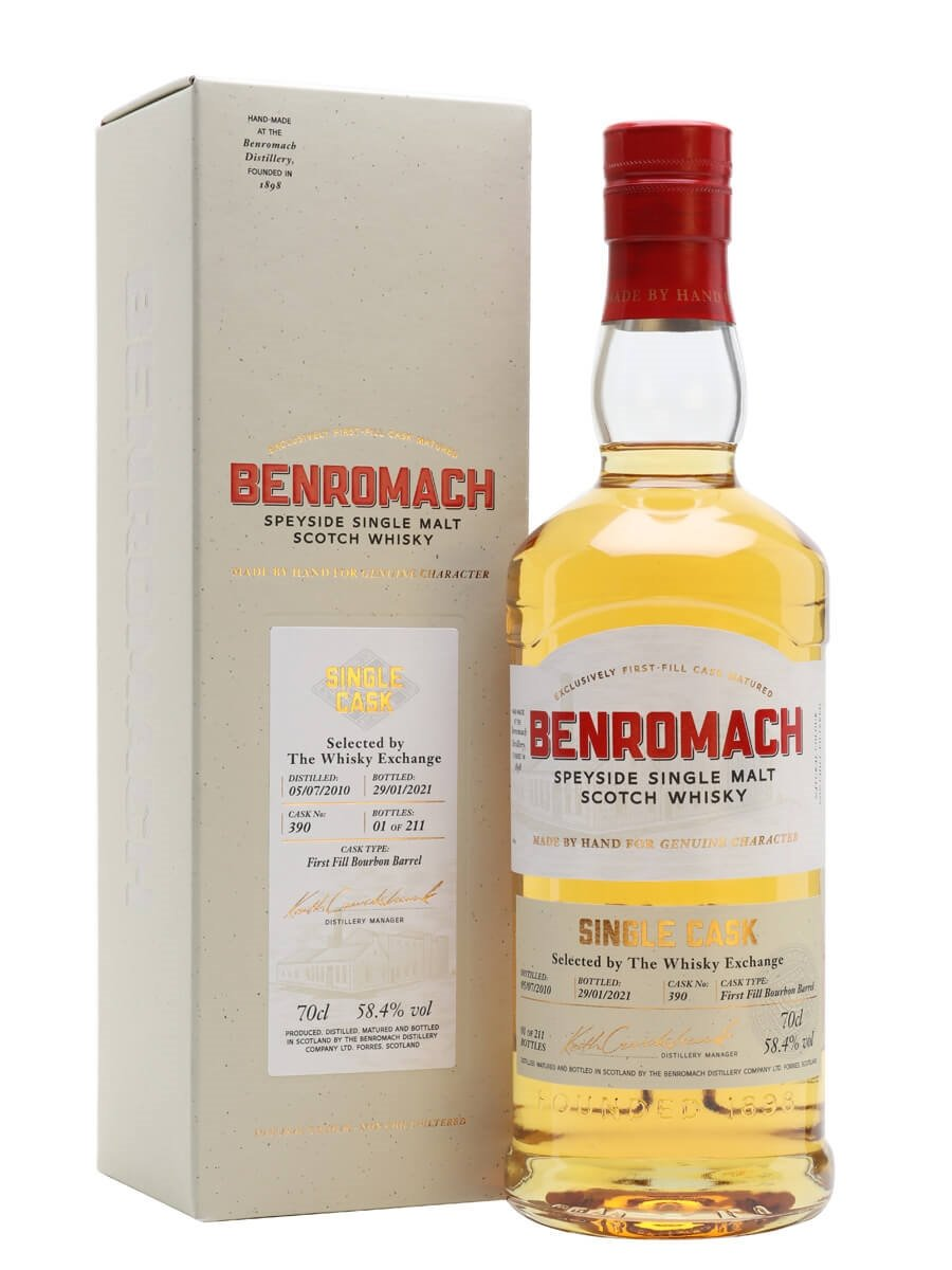 Benromach 2010 / 10 Year Old / Exclusive To The Whisky Exchange