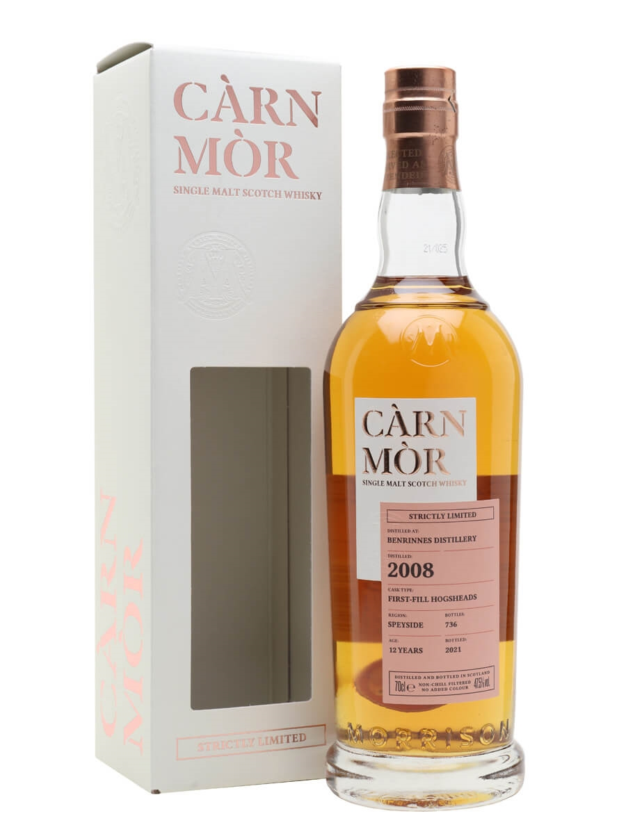 Benrinnes 2008 / 12 Year Old / Carn Mor