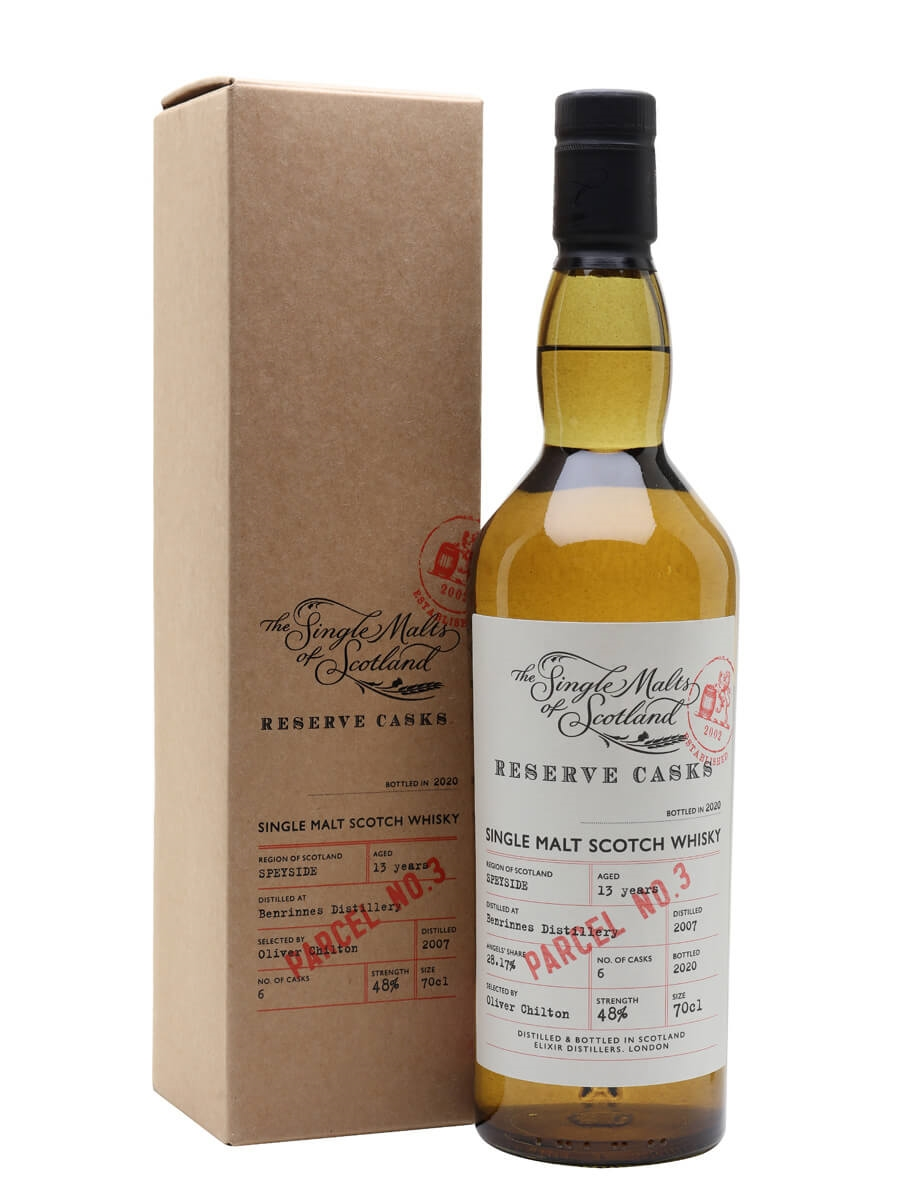Benrinnes 13 Years Old / Reserve Cask - Parcel. No.3