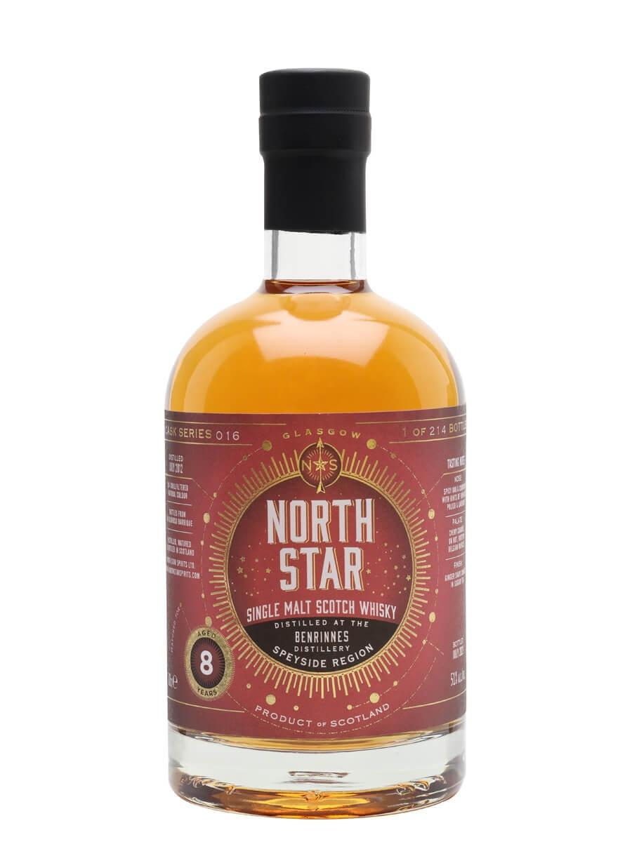Benrinnes 2012 / 8 Year Old / North Star Series 016