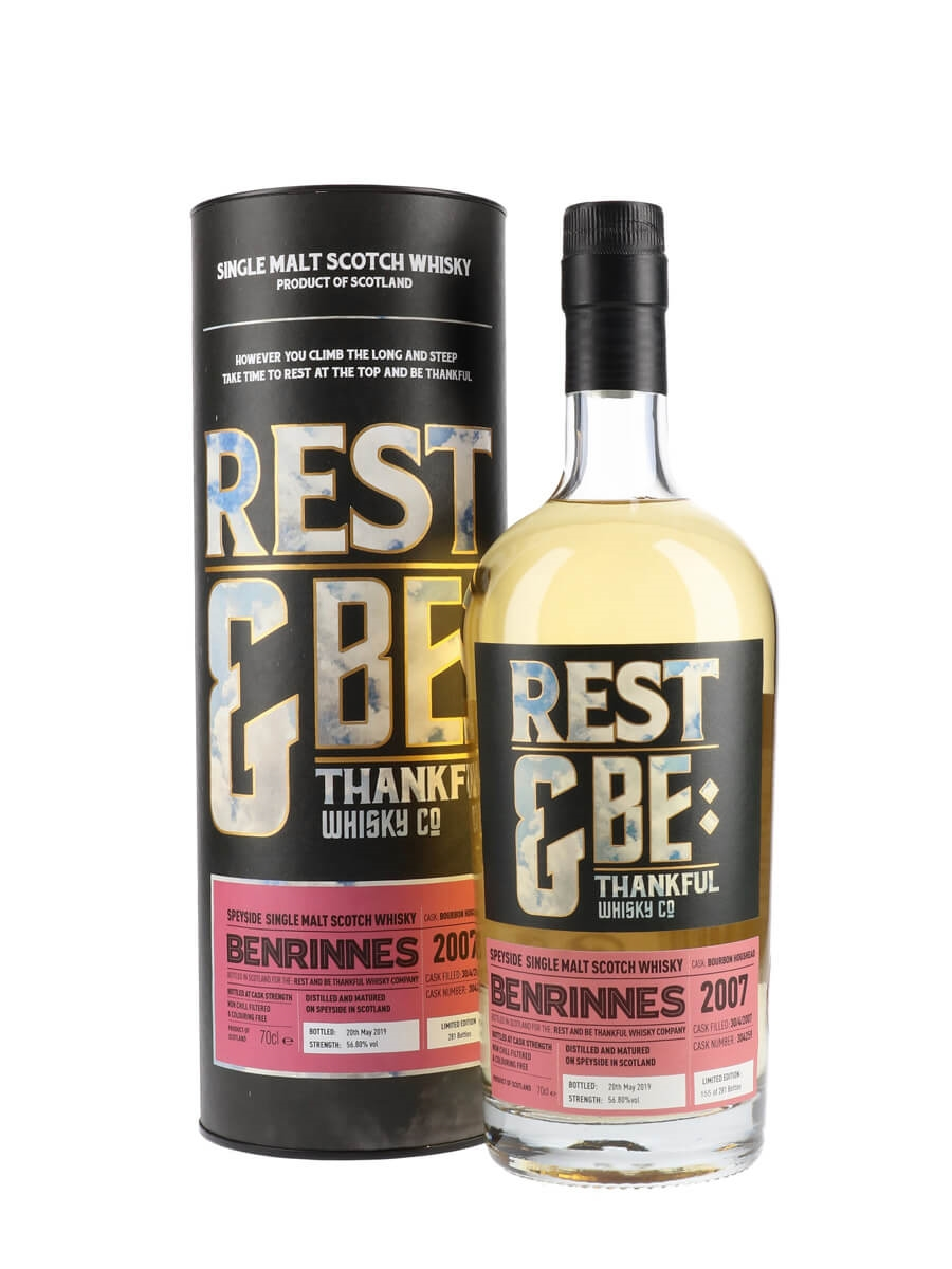 Benrinnes 2007 / 11 Year Old / Rest & Be Thankful