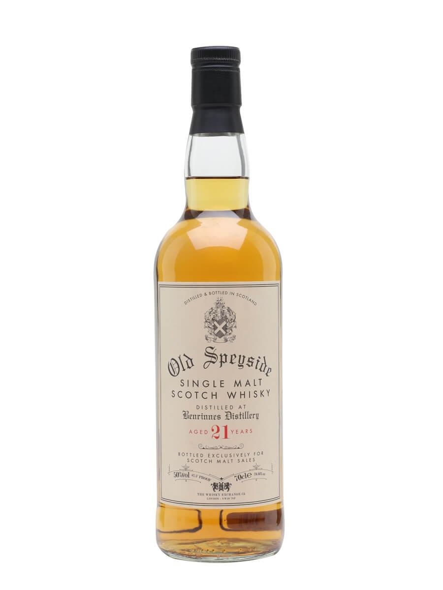 Benrinnes 21 Year Old / Scotch Malt Sales