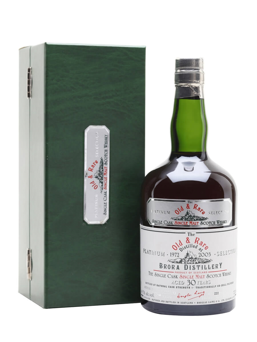 Brora 1972 / 30 Year Old / Sherry Cask / Old & Rare Platinum