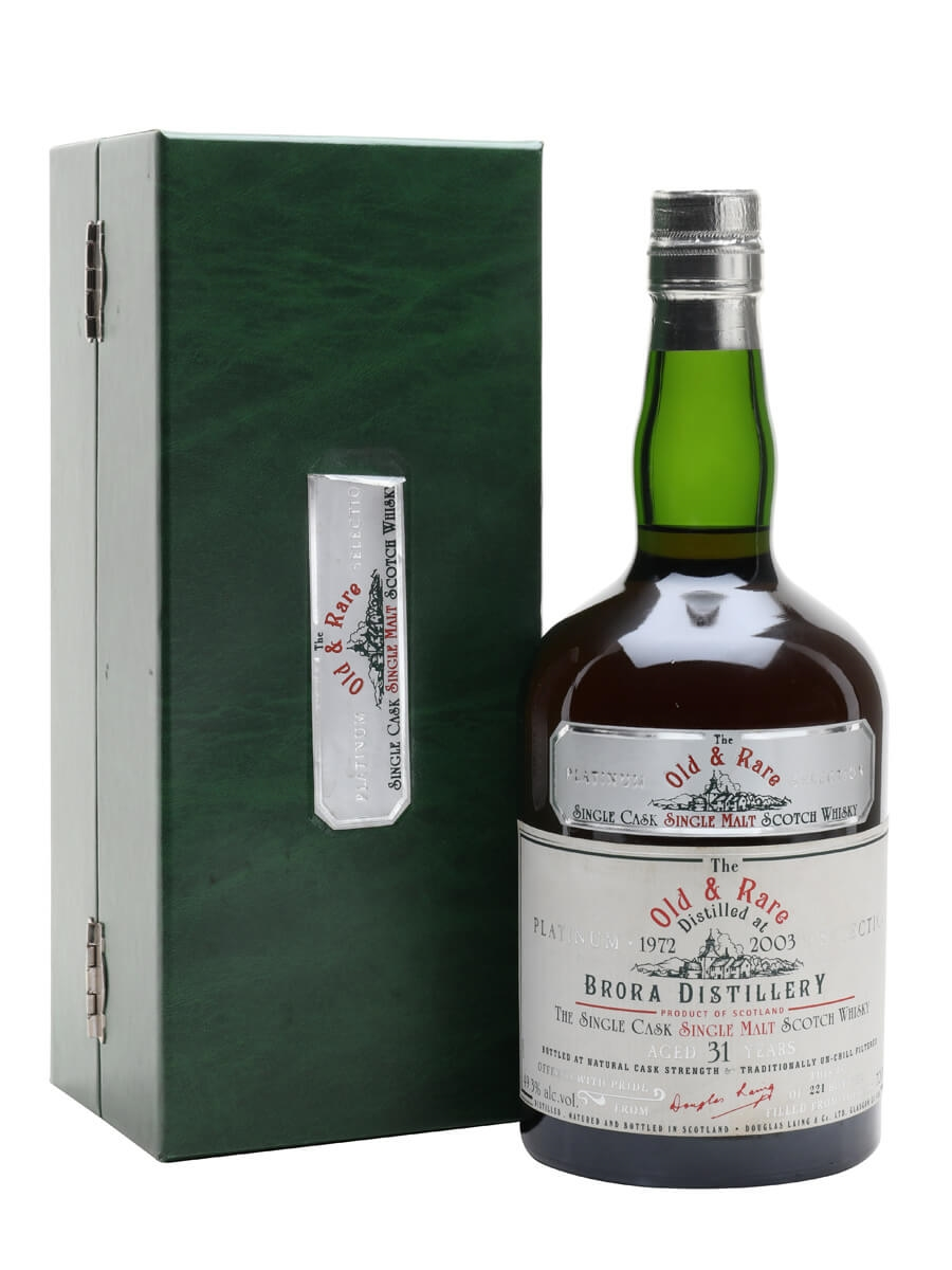 Brora 1972 / 31 Year Old / Sherry Cask / Old & Rare Platinum