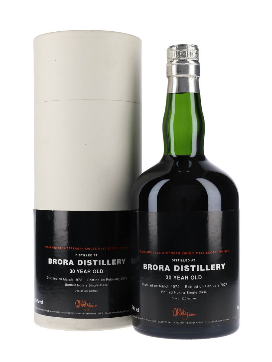 Brora 1972 / 30 Year Old / Sherry Cask / Old & Rare