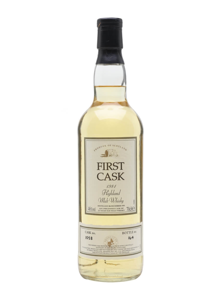 Brora 1981 / 23 Year Old / First Cask