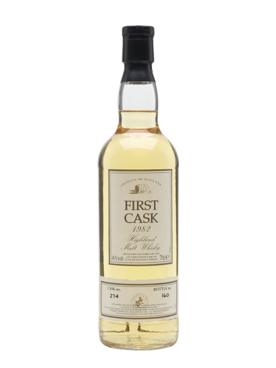 Brora 1982 / 21 Year Old / Cask #274 / First Cask