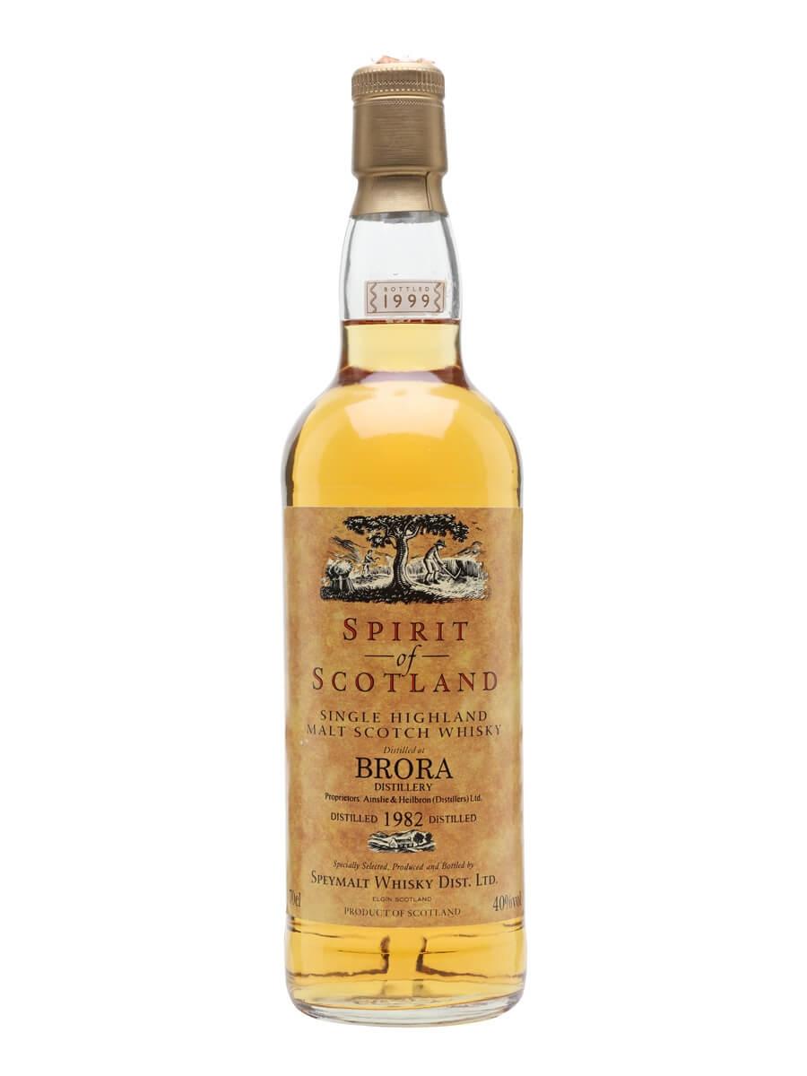 Brora 1982 / Bot.1999 / Spirit of Scotland Gordon & Macphail