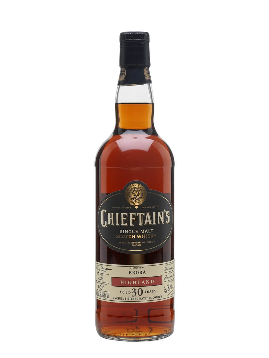 Brora 1981 / 30 Year Old / Sherry Cask / Chieftain's
