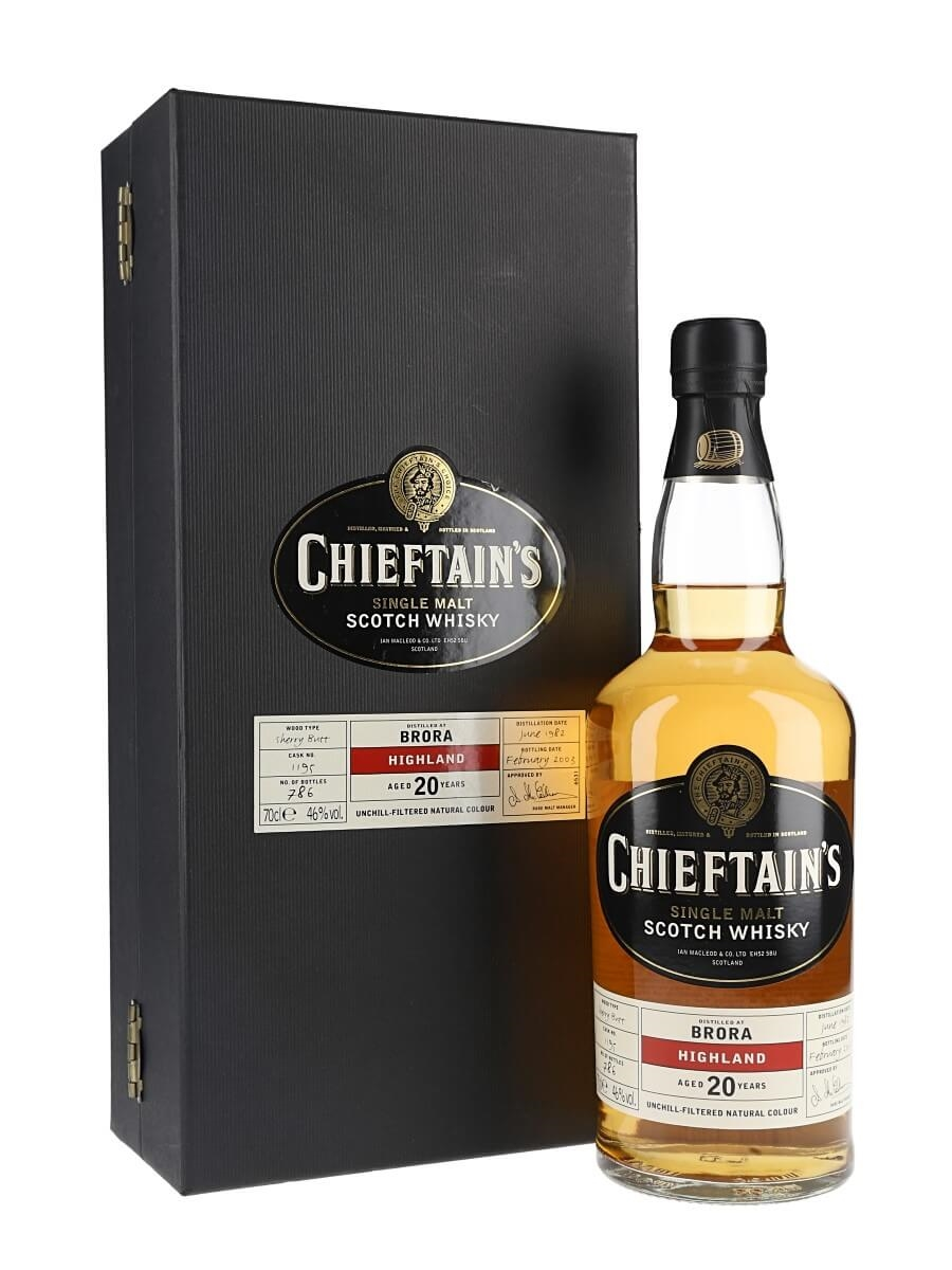 Brora 1982 / 20 Year Old / Sherry Cask / Chieftans Choice