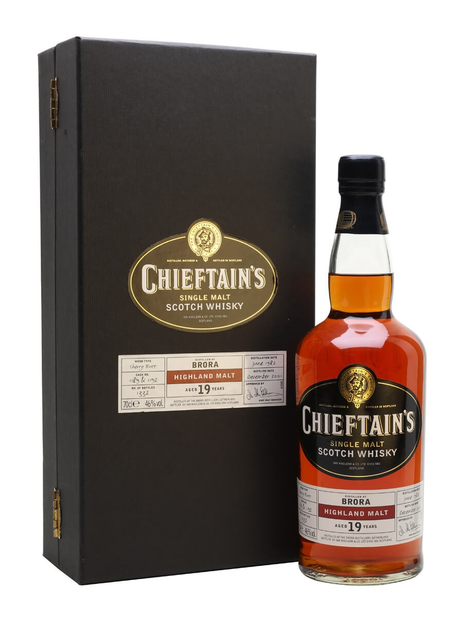 Brora 1982 / 19 Year Old / Cask #1189+1192 / Chieftain's