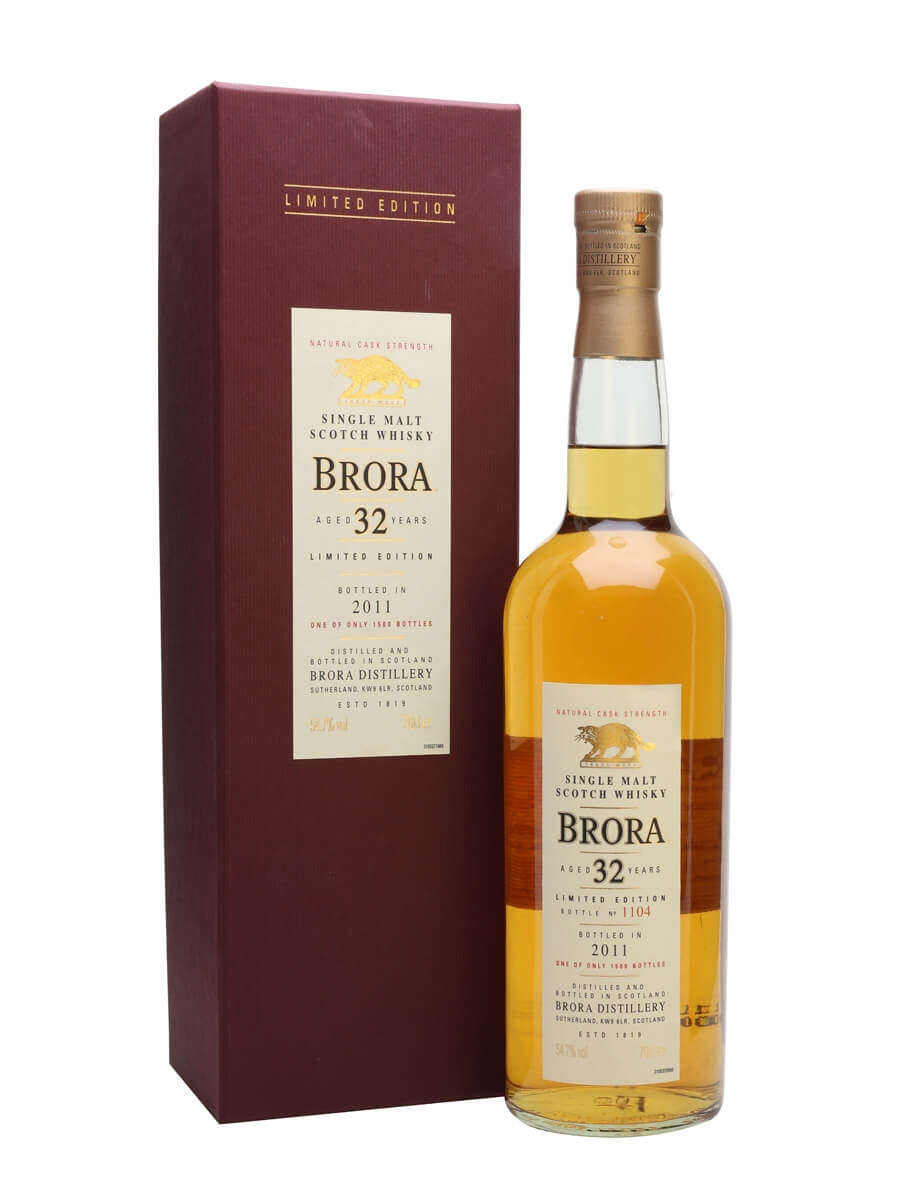 Brora 32 Year Old / 10th Release / Bot.2011