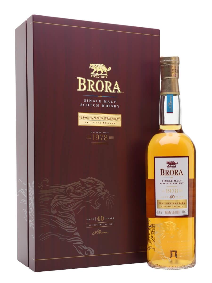 Brora 1978 / 40 Year Old / 200th Anniversary