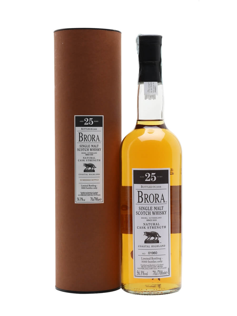 Brora 25 Year Old / 7th Release / Bot.2008