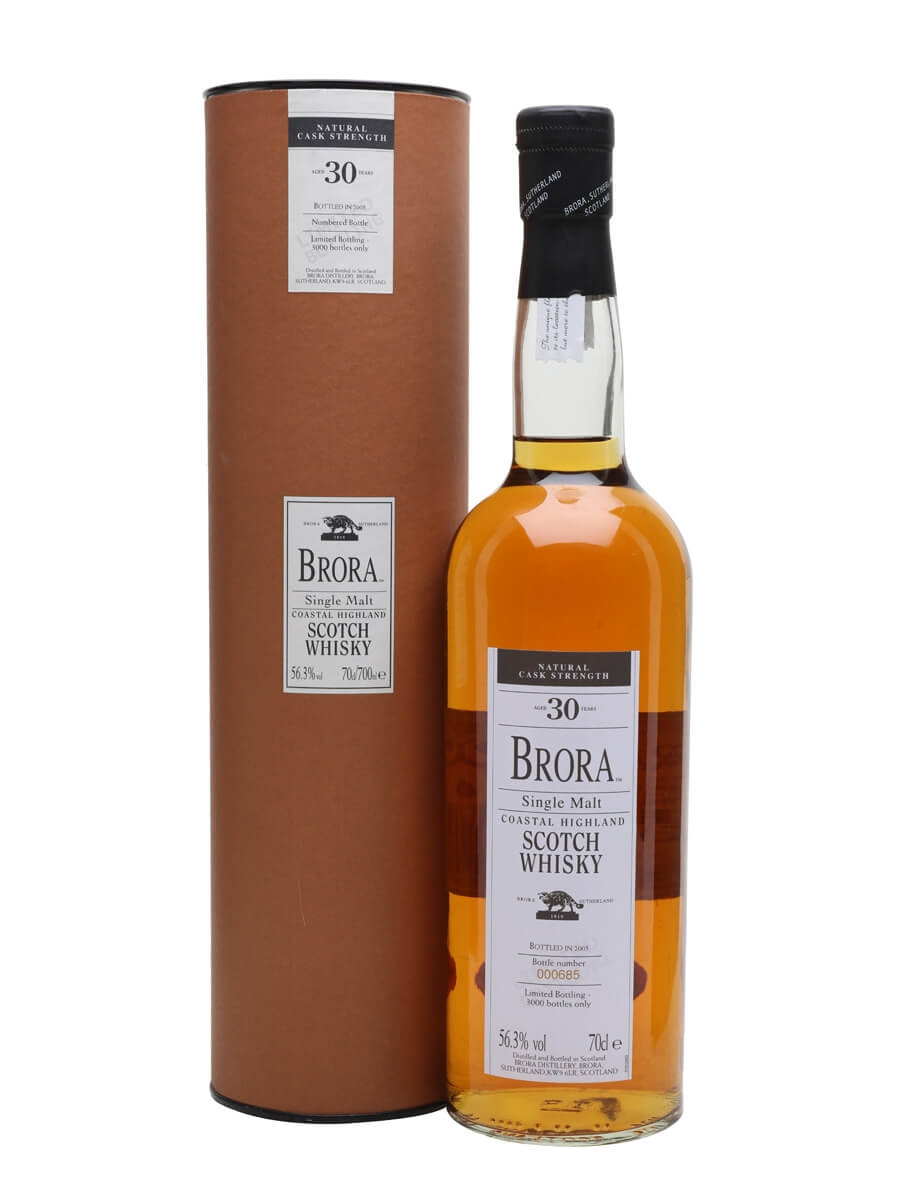 Brora 30 Year Old / 4th Release / Bot.2005