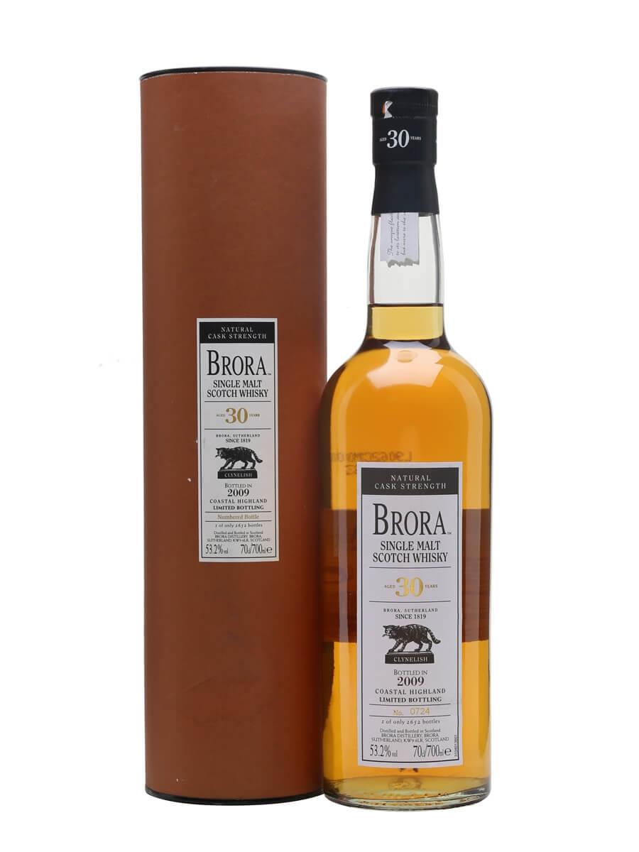 Brora 30 Year Old / 8th Release / Bot.2009