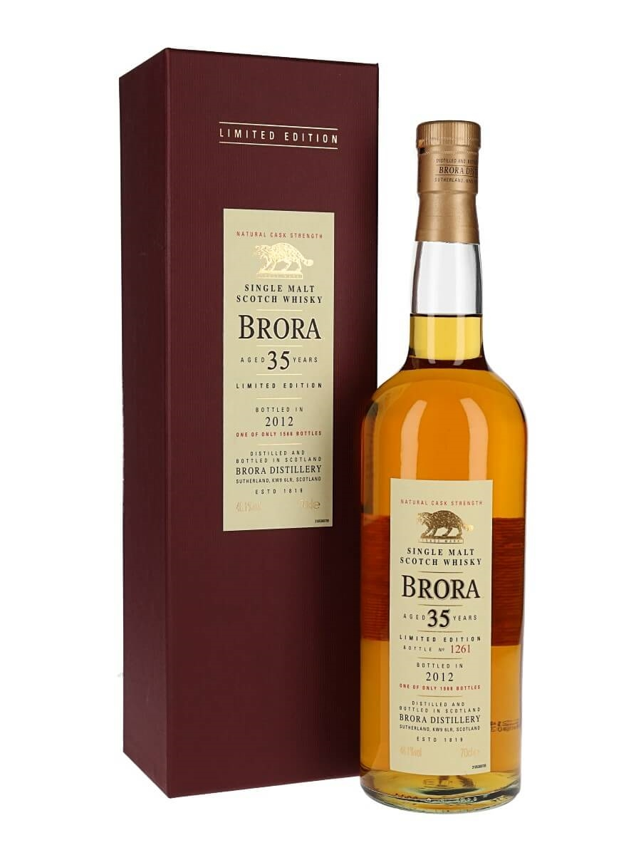 Brora 35 Year Old / 11th Release / Bot.2012