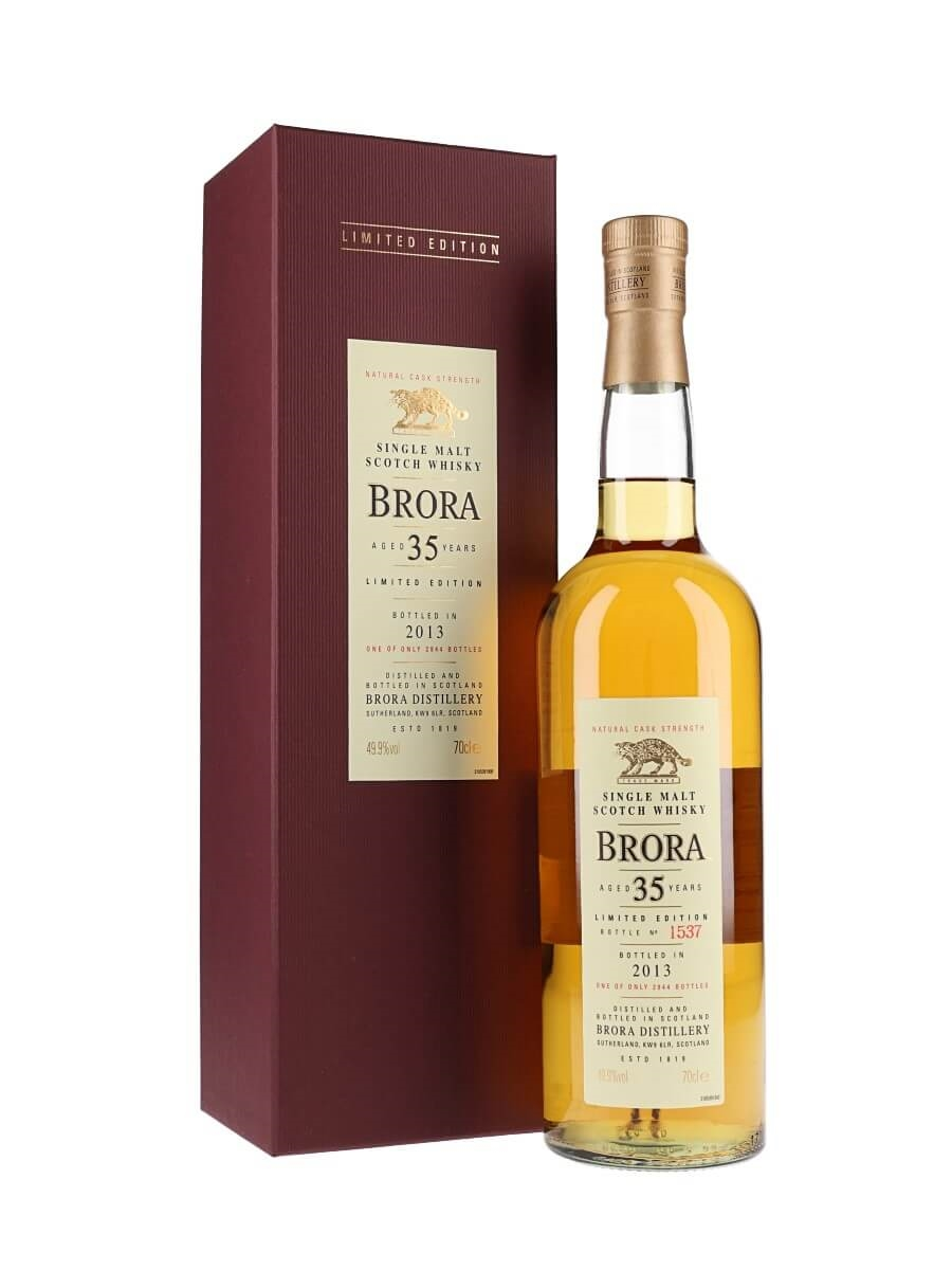 Brora 1977 / 35 Year Old / 12th Release / Bot.2013