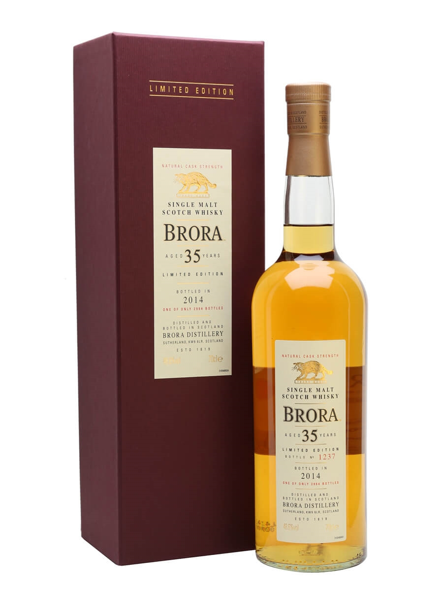 Brora 35 Year Old / 13th Release / Bot.2014