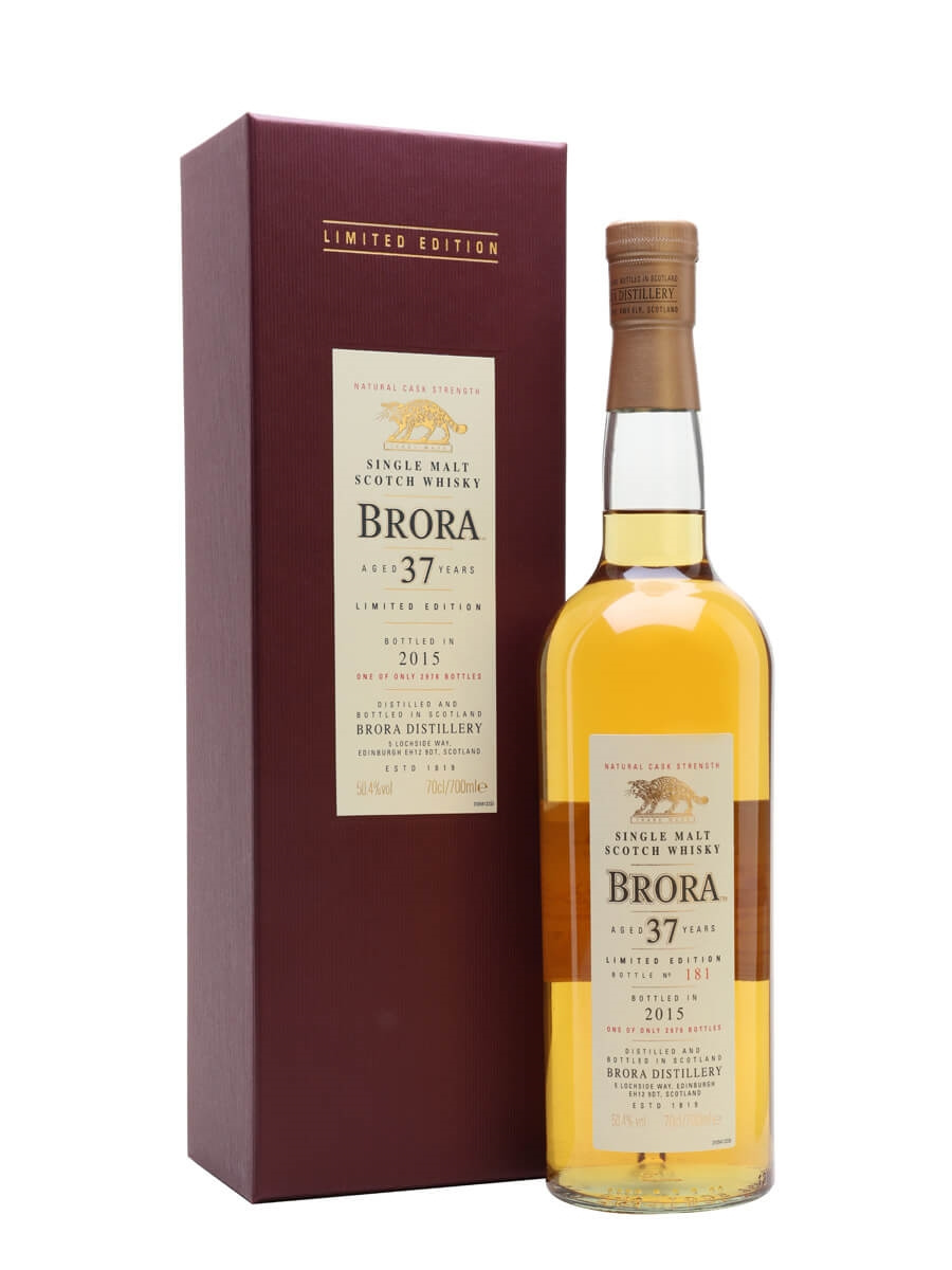 Brora 37 Year Old / 14th Release / Special Releases 2015
