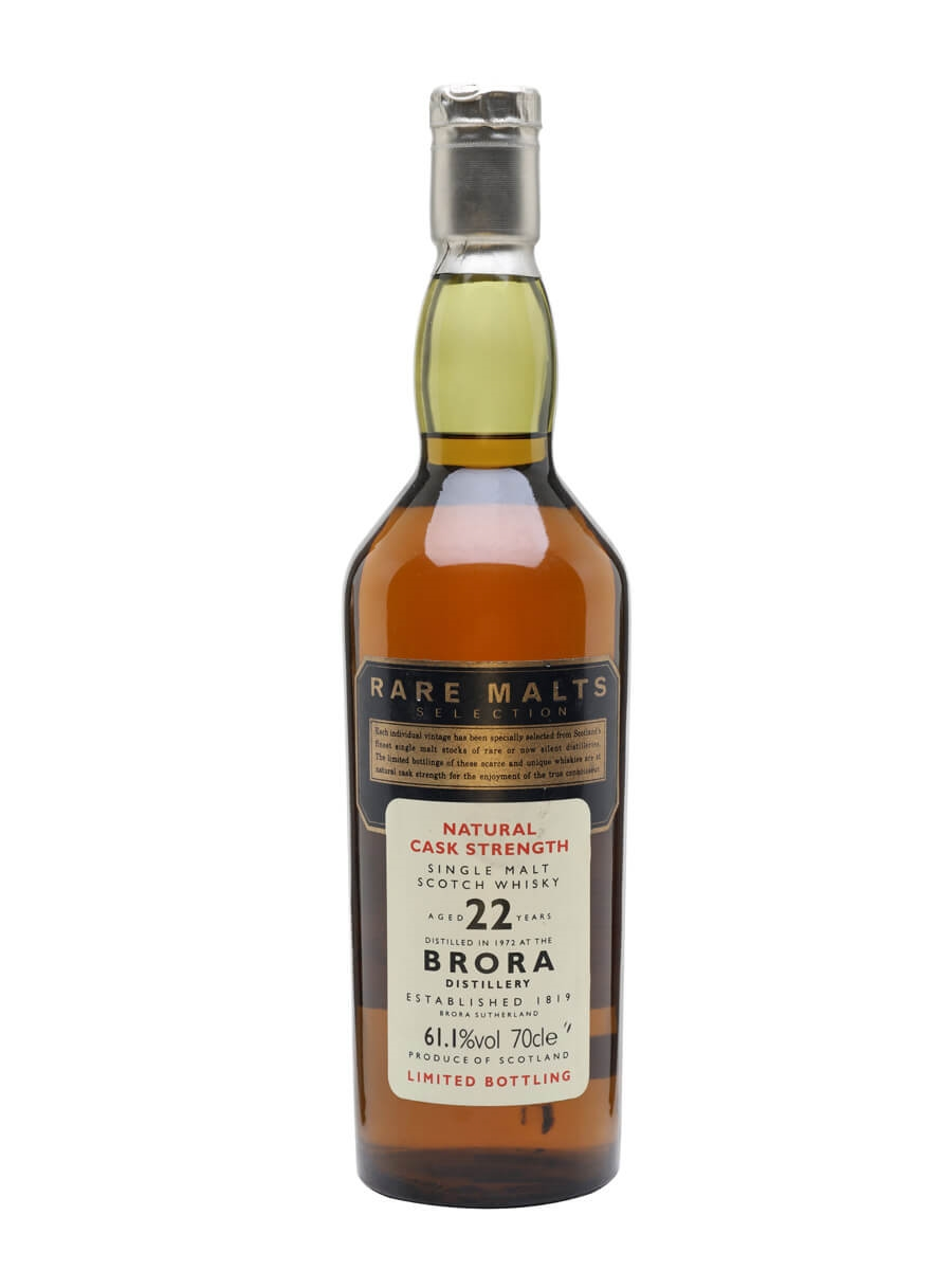 Brora 1972 / 22 Year Old / Rare Malts