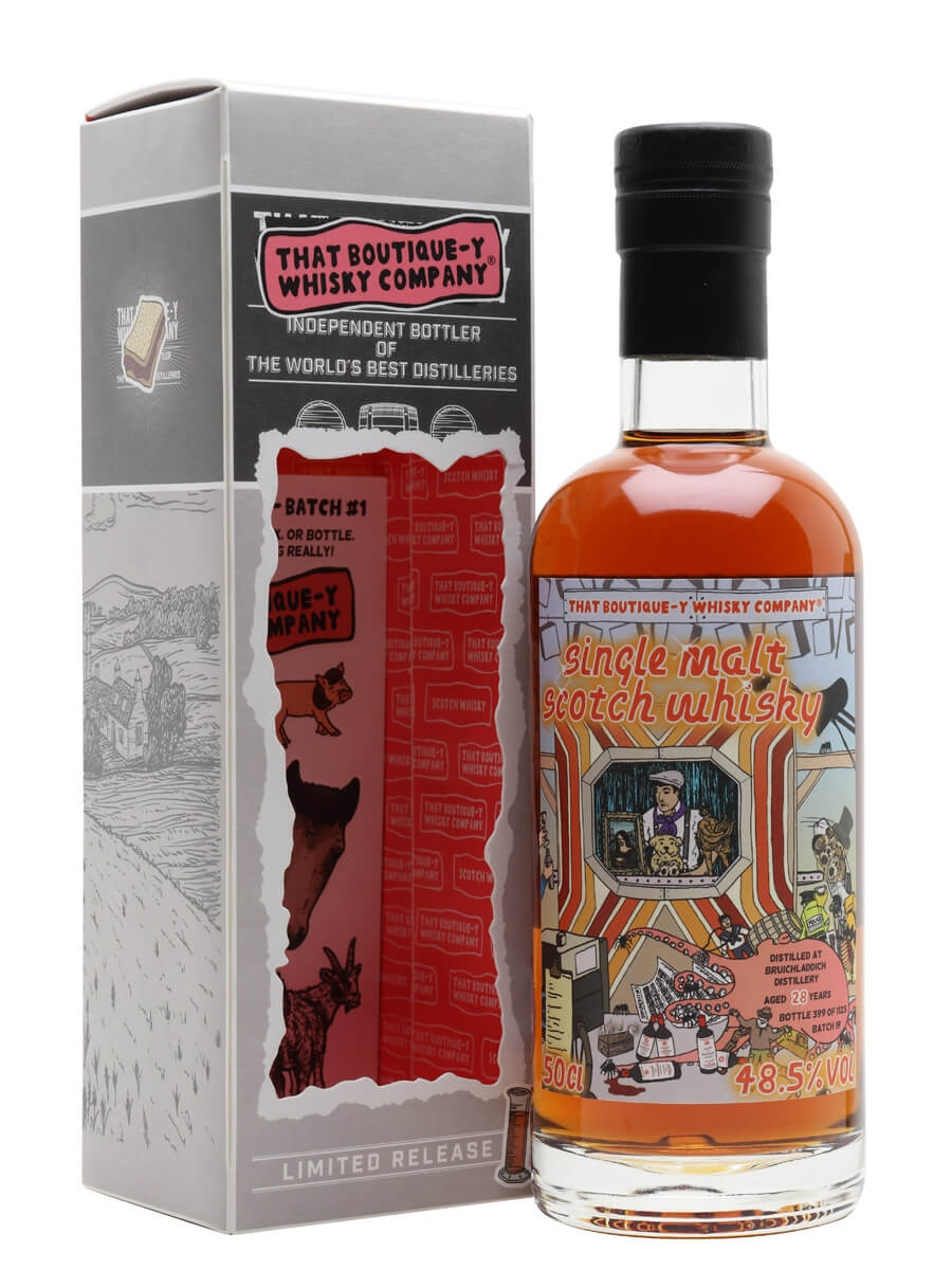 Bruichladdich 28 Year Old / Batch 19 / That Boutique-y Whisky Company