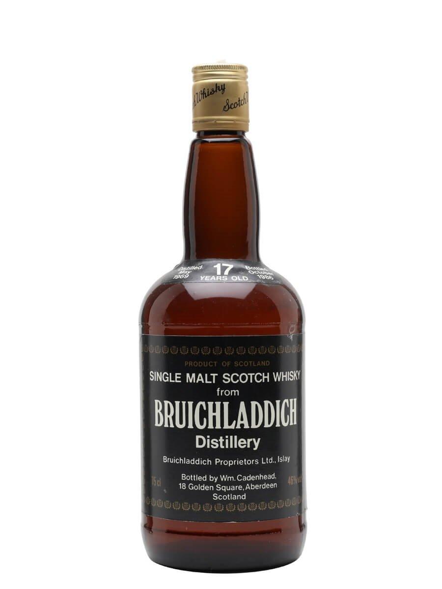 Bruichladdich 1969 / 17 Year Old / Bot.1986 / Cadenhead