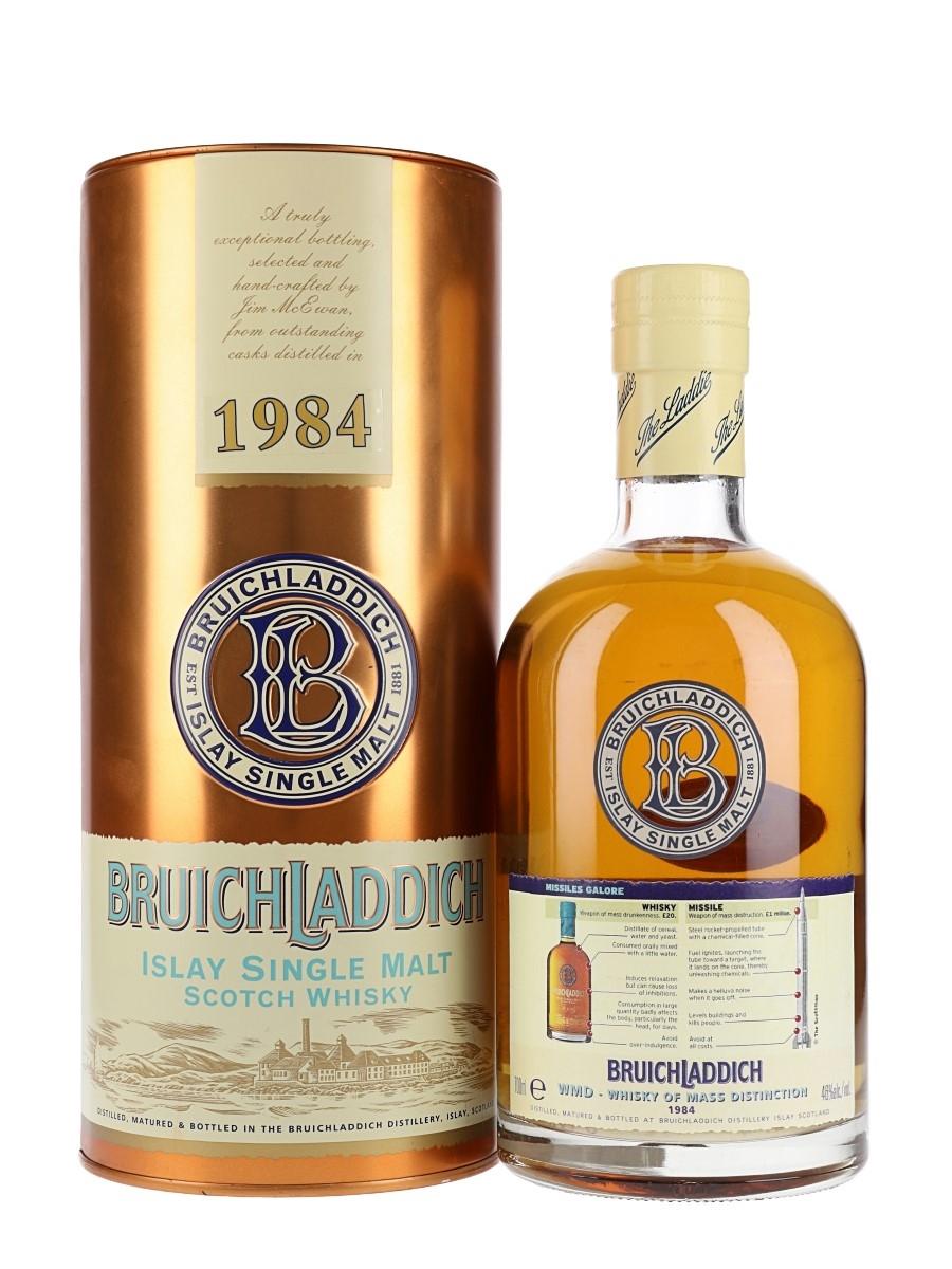 Bruichladdich 1984 / Whisky of Mass Distinction
