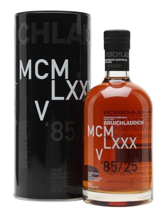 Bruichladdich MCMLXXXV (1985) / 25 Year Old / DNA3