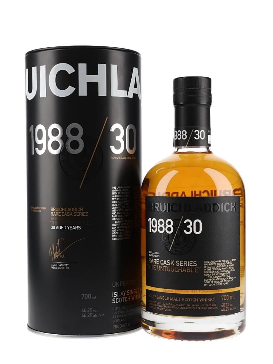 Bruichladdich 1988 / The Untouchable / 30 Year Old / Rare Cask Series