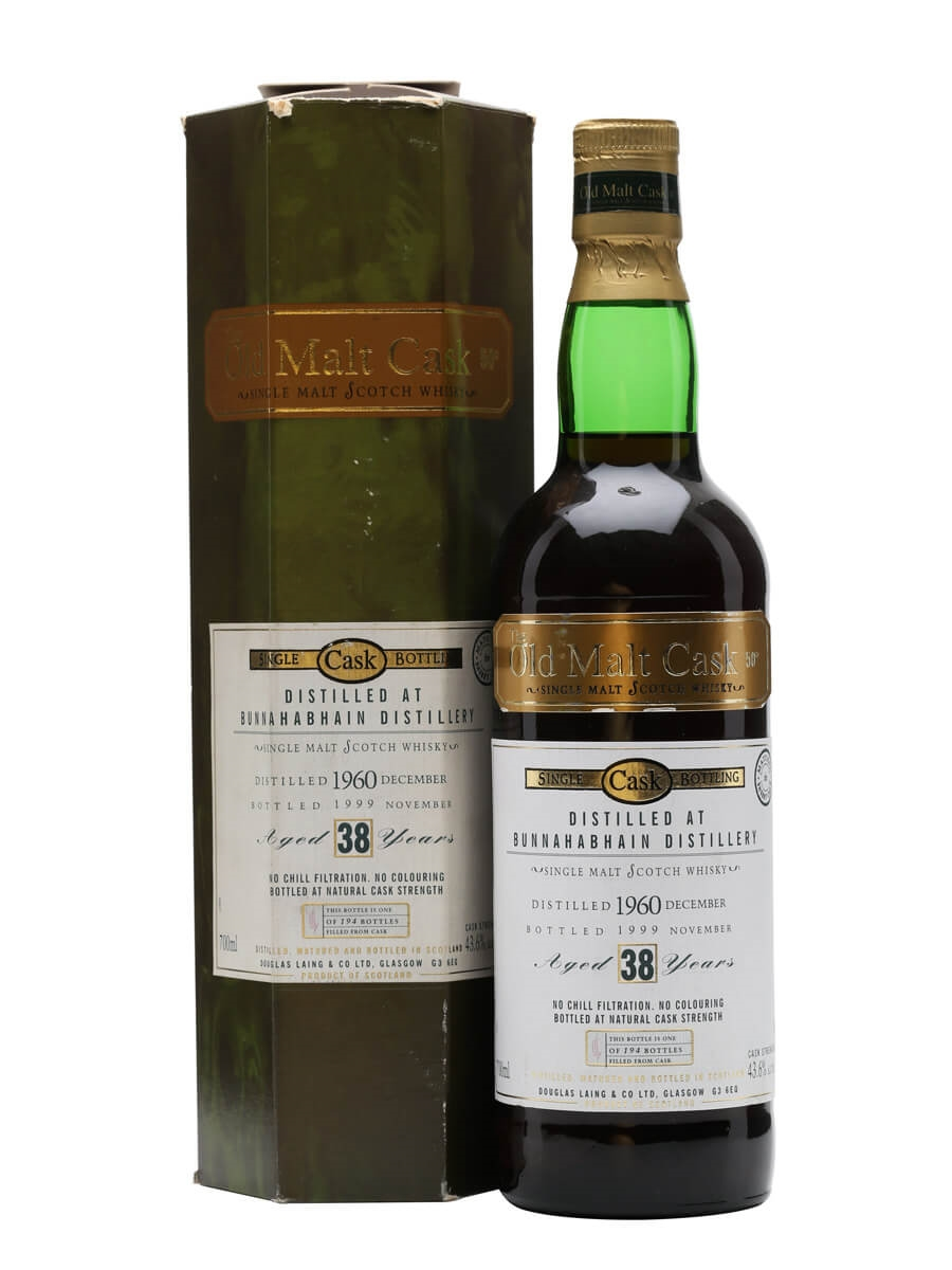 Bunnahabhain 1960 / 38 Year Old / Sherry Cask Old Malt Cask