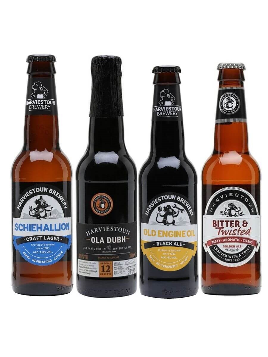 Harviestoun Beer Bundle / 4 Bottles