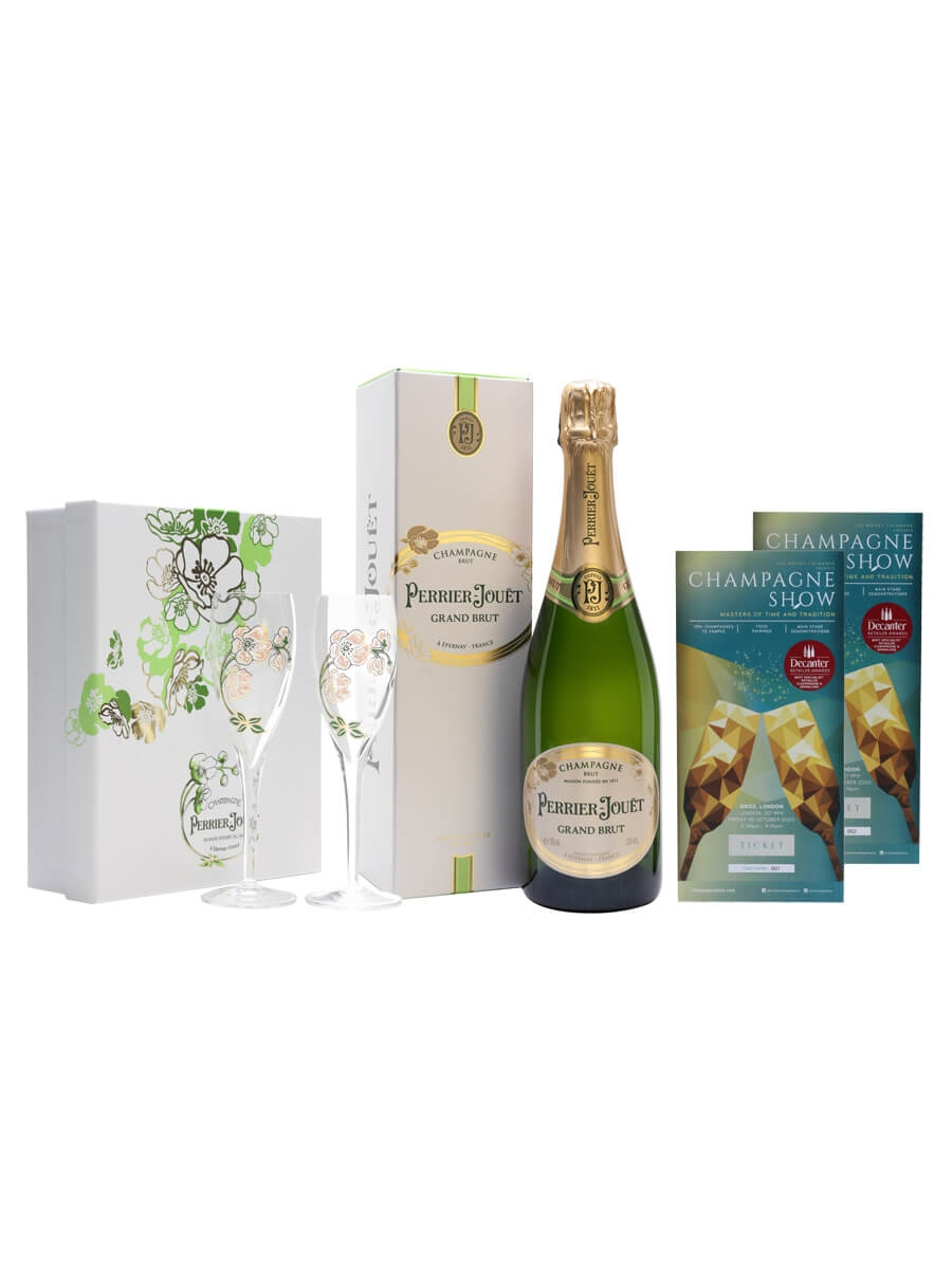 Perrier-Jouët Champagne Show Ticket Package + Extra Ticket