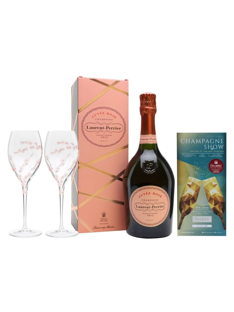 Laurent-Perrier Rose Champagne Show Ticket Package / 1 Ticket