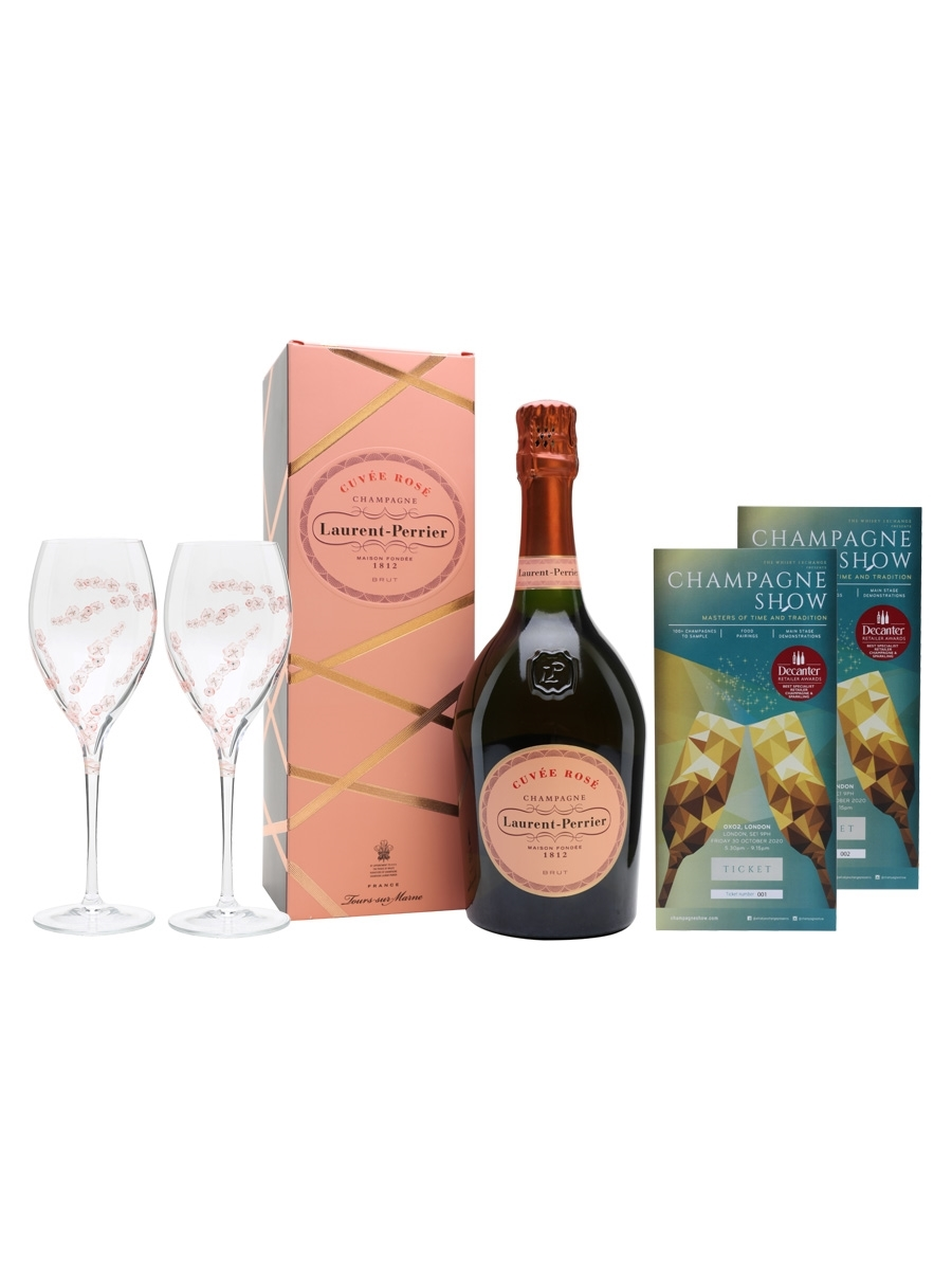 Laurent-Perrier Rose Champagne Show Ticket Package / 2 Tickets
