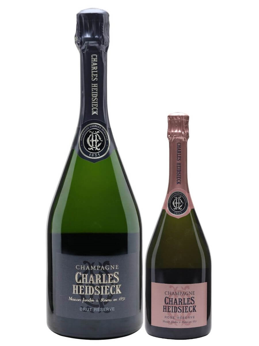 Charles Heidsieck Champagne of the Year Collection