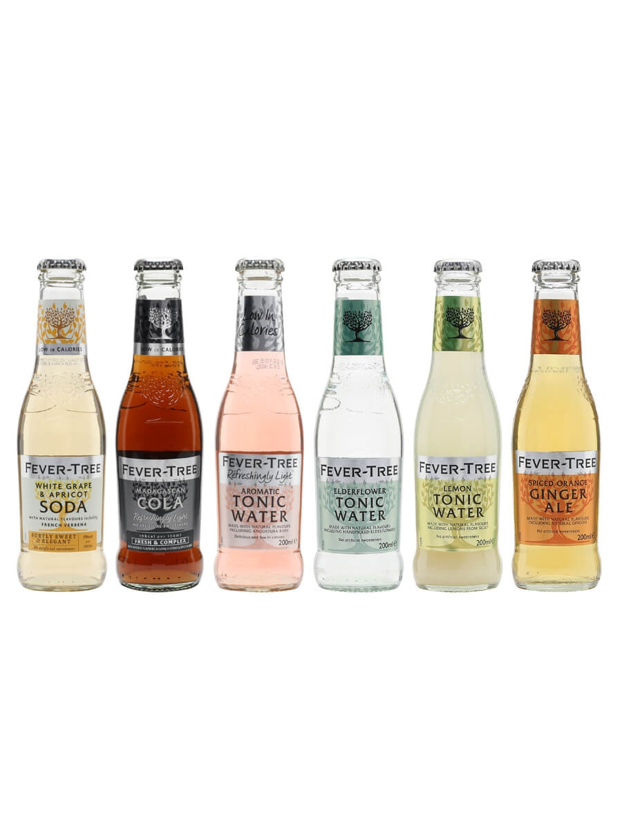 Fever-Tree Mixers Collection / 6 Bottles