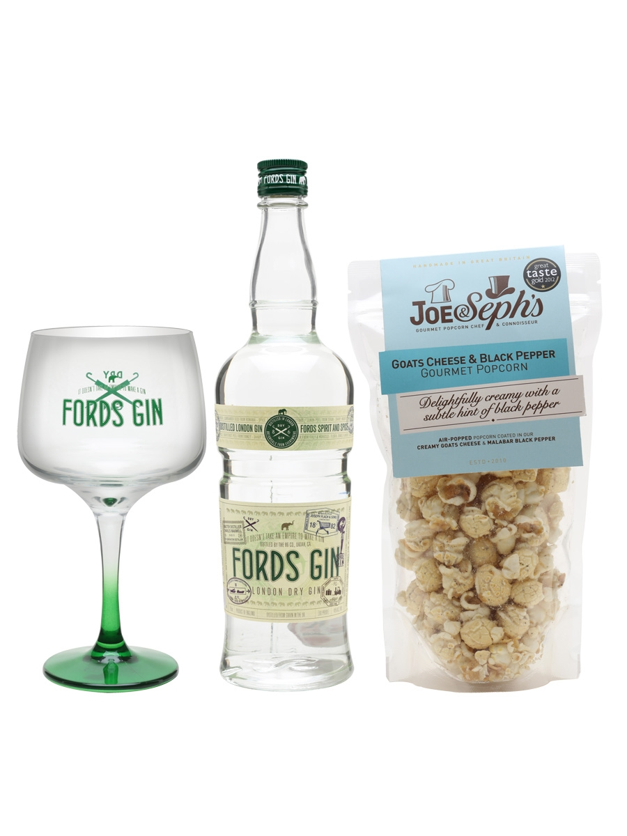 Fords London Dry Gin and Popcorn Bundle